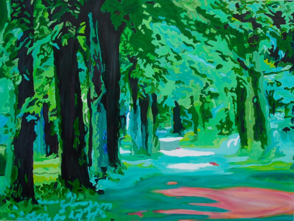Eden's Back Door - Halton Hills, Acrylic on Canvas, 48x36x.75 inches, Dave Dent